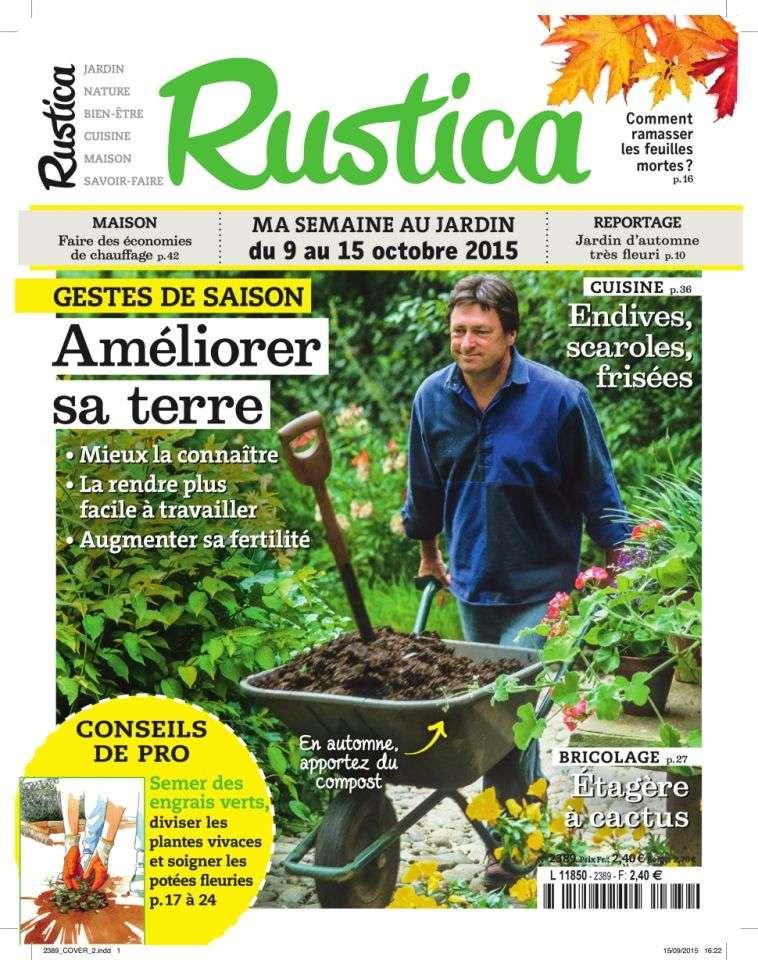 Rustica 2389 - 9 au 15 Octobre 2015