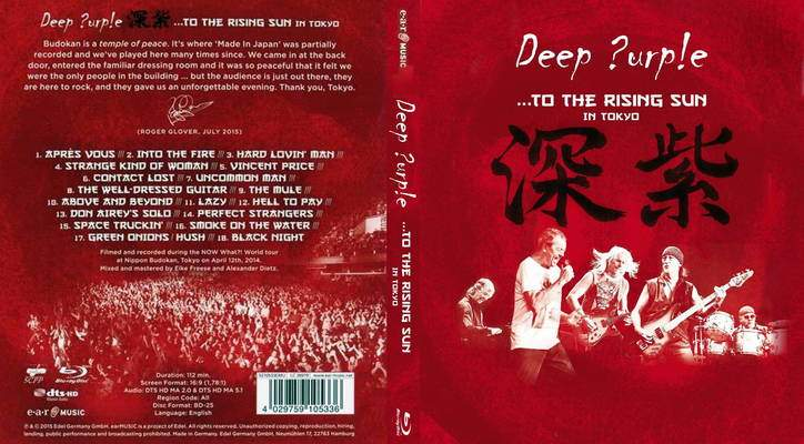Deep Purple – To the Rising Sun – In Tokyo Torrent - 1080p 5.1 (2015)