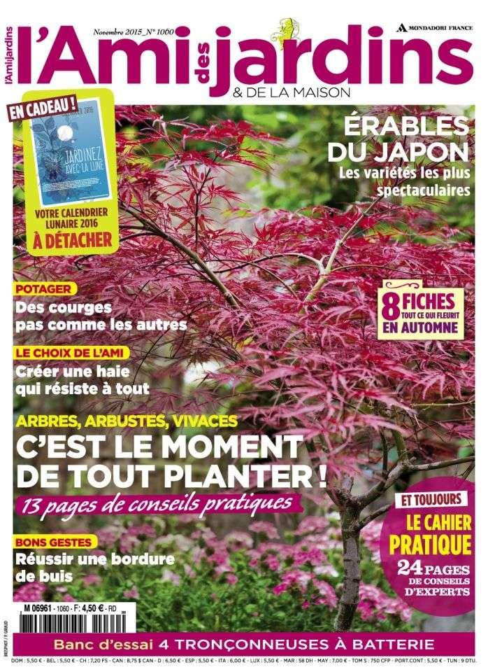 L'Ami des Jardins & de la Maison 1060 - Novembre 2015