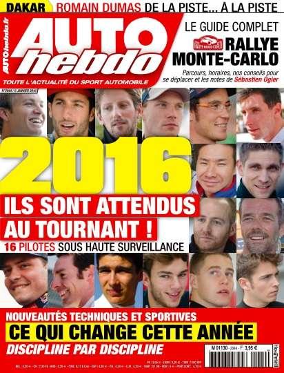 Auto Hebdo - 6 Janvier 2016