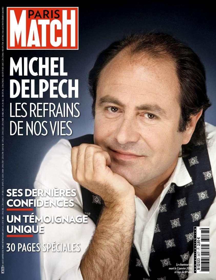 Paris Match 3477 - 6 au 13 Janvier 2016