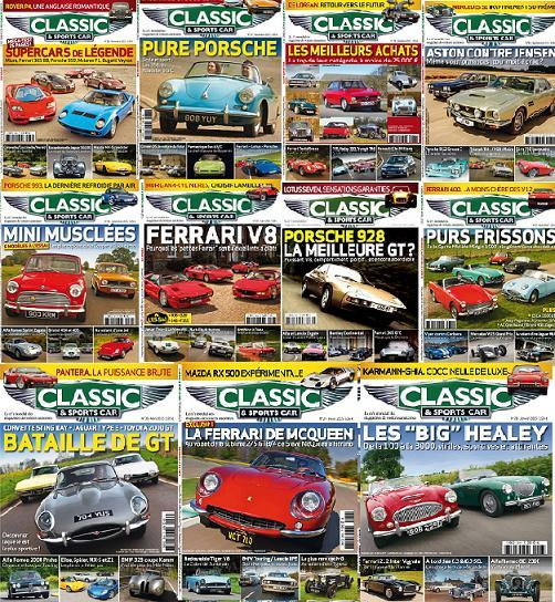 Classic & Sports Car France - Collections 2015