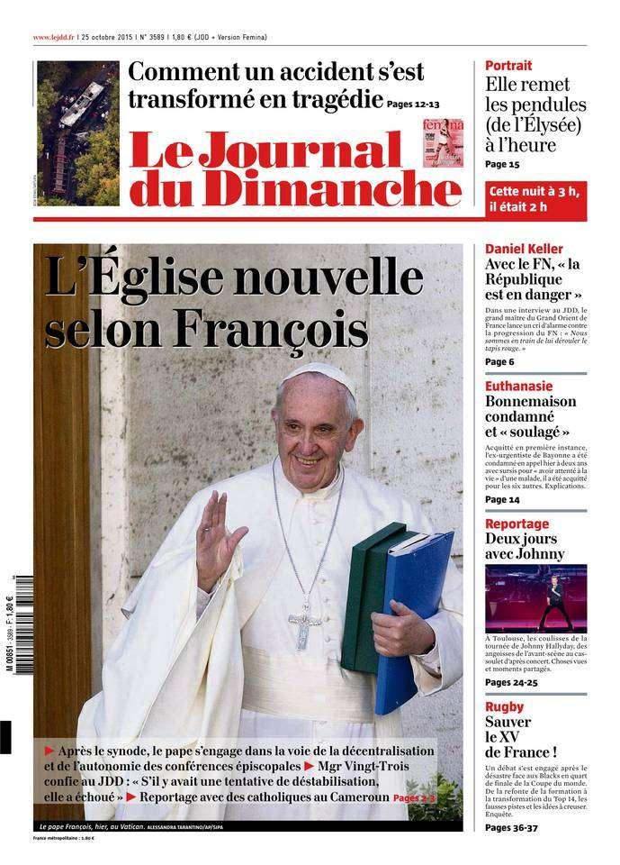 Le Journal du Dimanche - 25 Octobre 2015