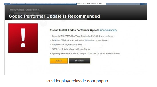 Pt.videoplayerclassic.com removal