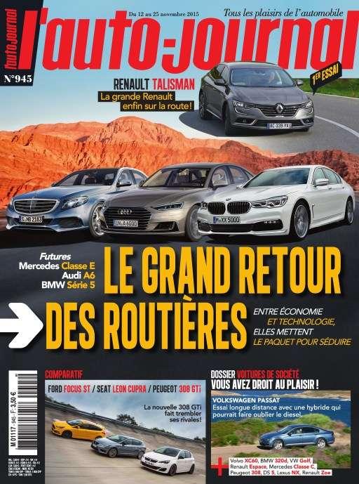 L'Auto Journal 945 - 12 au 25 Novembre 2015