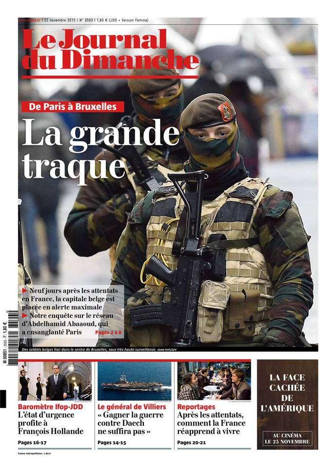 Le Journal du Dimanche - 22 Novembre 2015