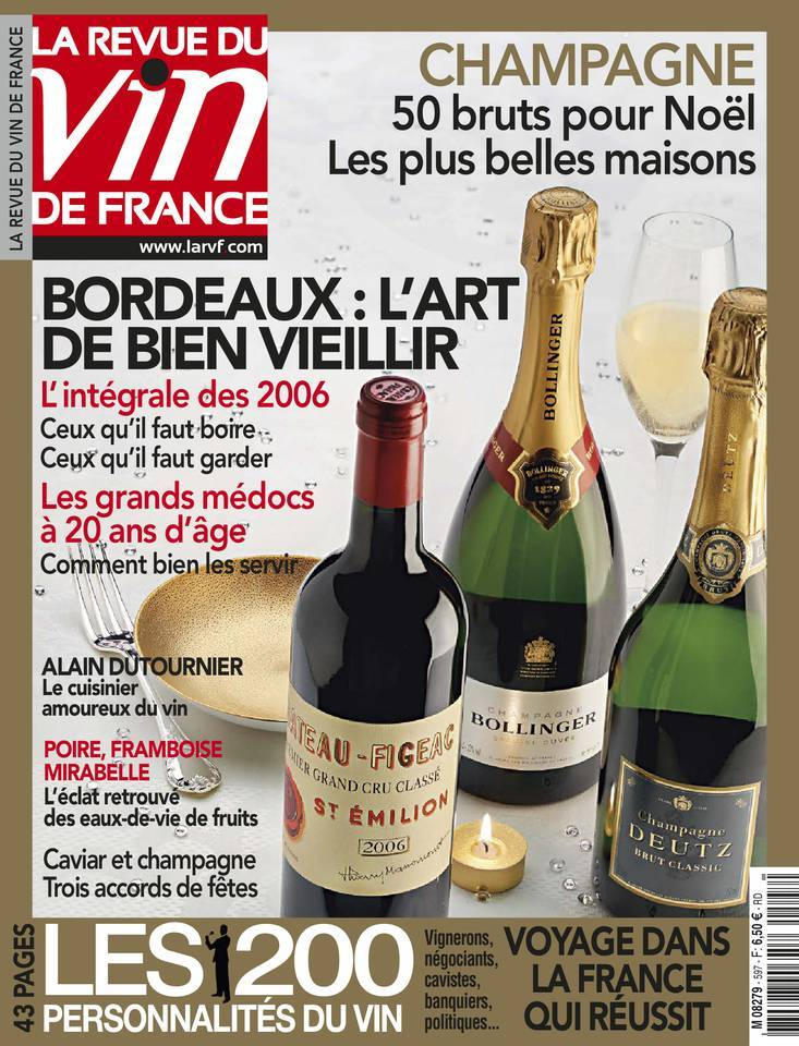 La Revue du Vin de France - Décembre-Janvier 2016