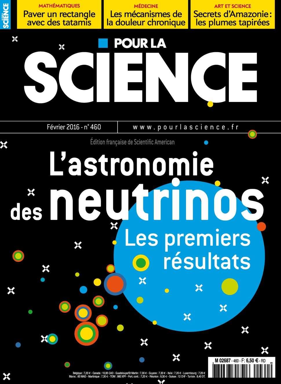 Pour la Science 460 - Février 2016
