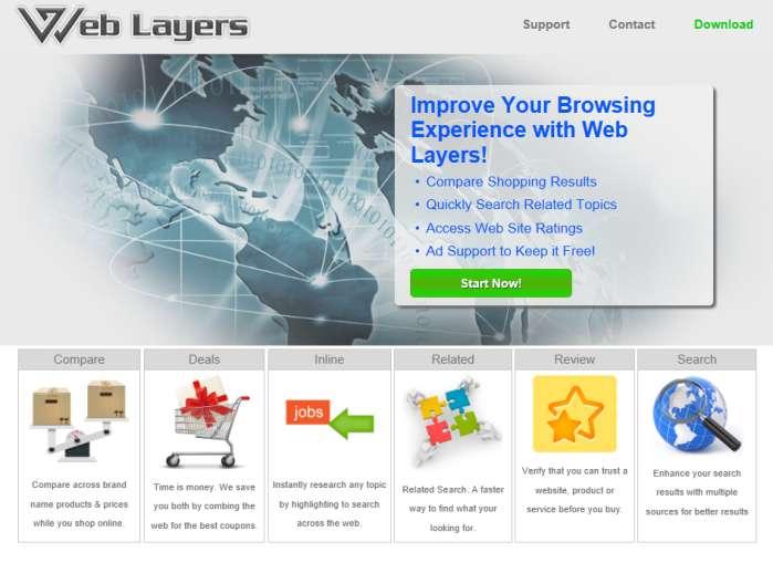 Remove Web Layers Ads
