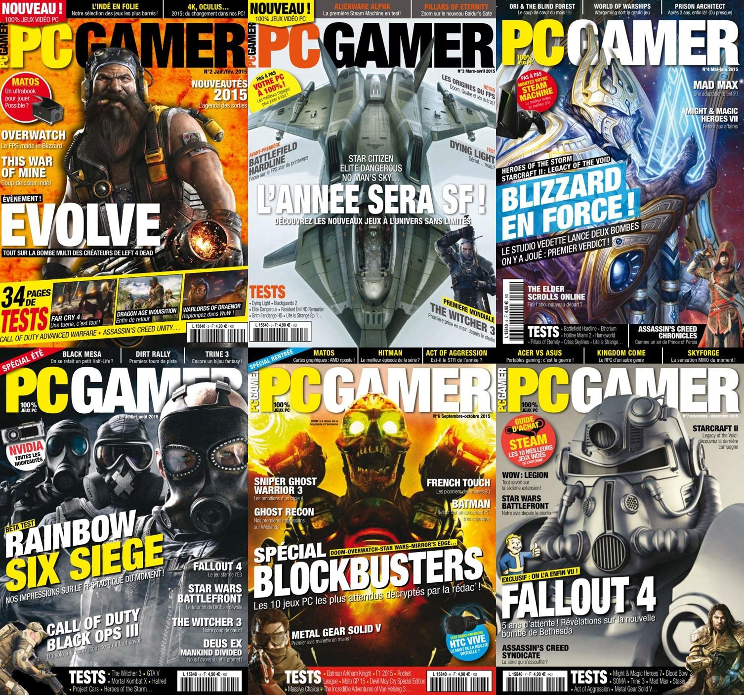 PC Gamer - 2015 Full Year Issues Collection