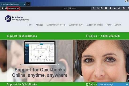 Eliminar Quickbookstool.com pop-ups