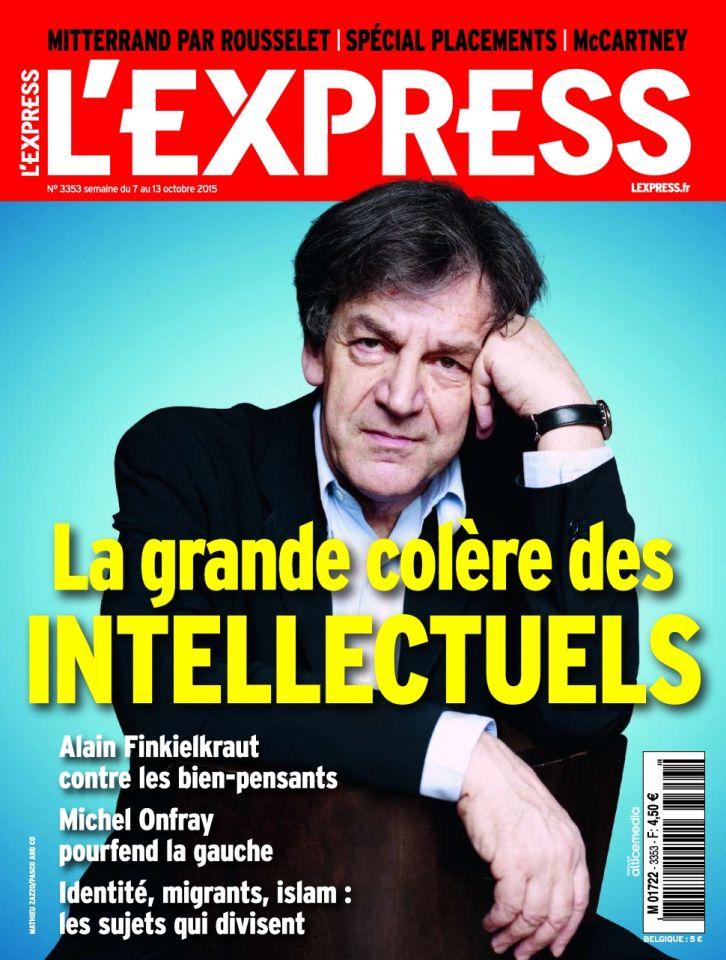 L'Express 3353 - 7 au 13 Octobre 2015