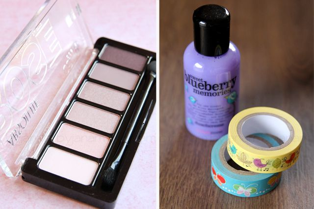 Lichtmalerei » New In - dm, Catrice Absolute Rose, Treaclemoon sweet blueberry memories, Washitape