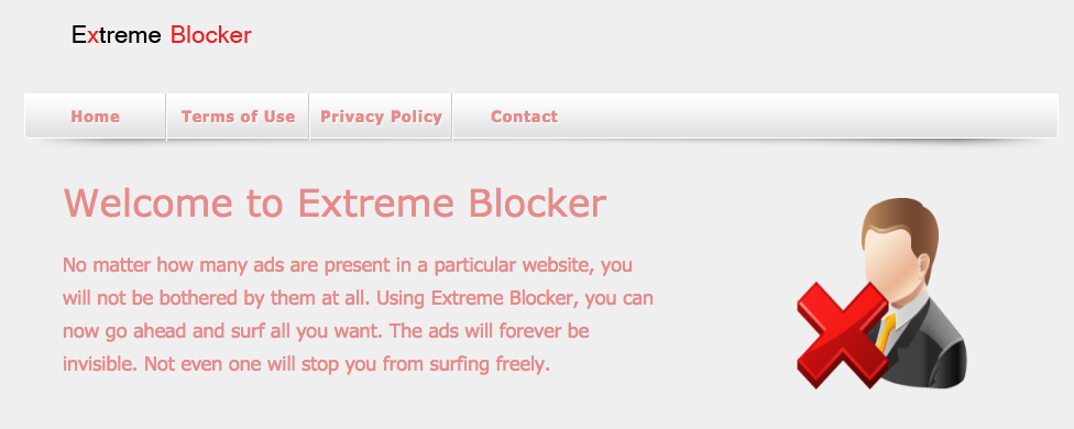 Verwijder Extreme Blocker