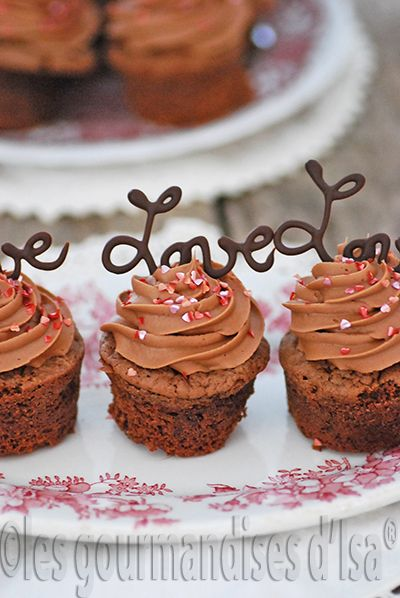 Mini quatre quarts au chocolat au gingembre pour la saint for Decoration quatre quart