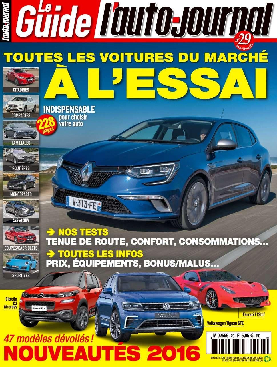 L'Auto-Journal (Le Guide) 29 - Janvier/Février 2016