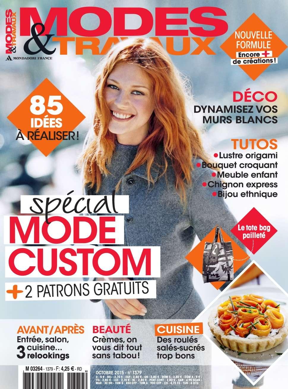 Modes & Travaux 1379 - Octobre 2015