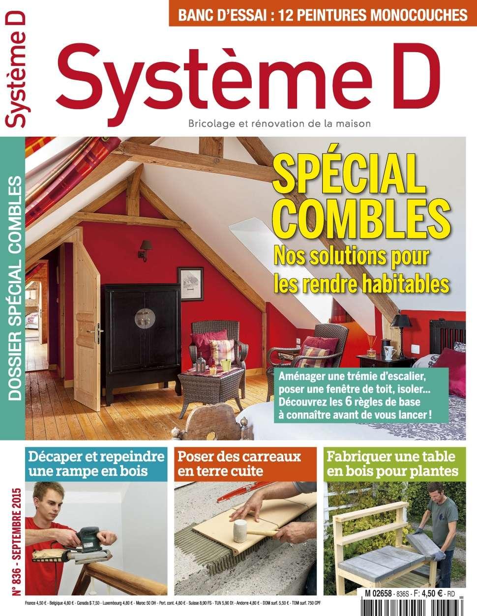Système D 836 - Septembre 2015