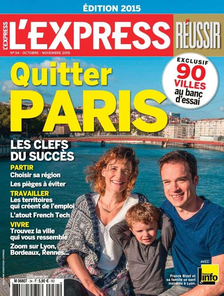 L'Express Hors-Série Réussir 34 - Octobre-Novembre 2015