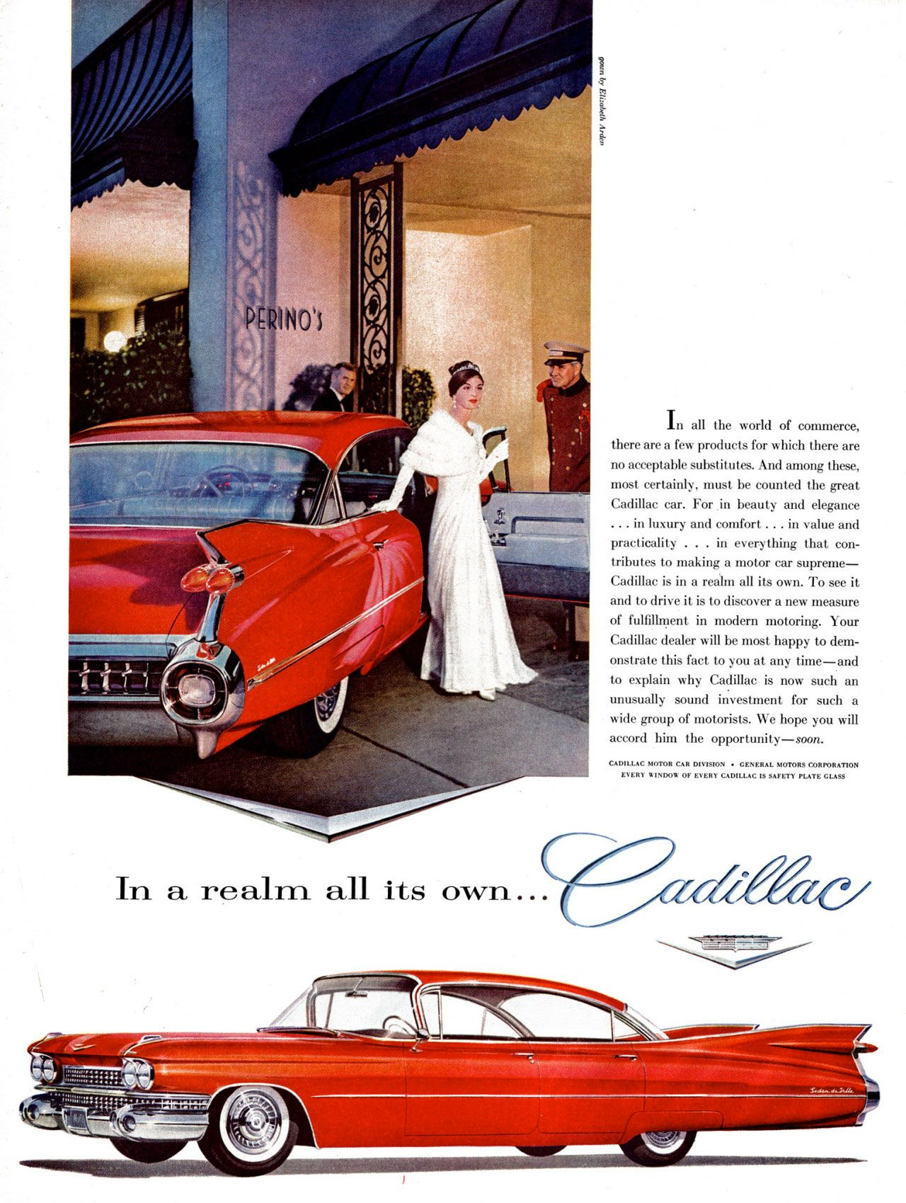 In a realm all its own... Cadillac.