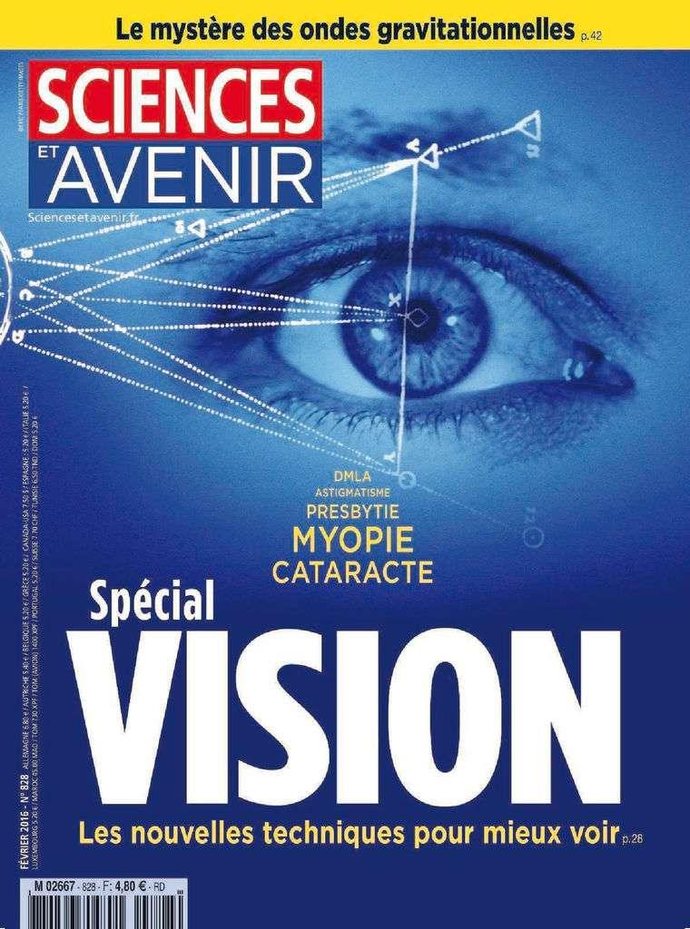 Sciences et Avenir 828 - Février 2016