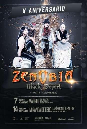 Zenobia aniversario - cartel