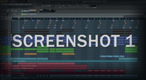 FL Studio Screenshot Image Project / Template