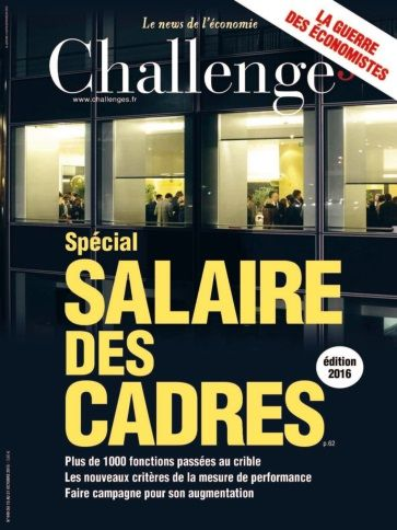 Challenges - 15 au 21 Octobre 2015