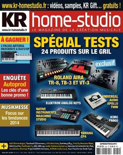 Keyboard Recording Home Studio 294 - Avril 2014