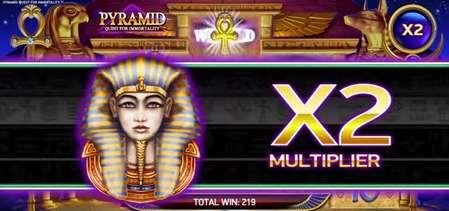 Pyramid Quest for Immortality bonus