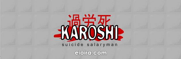 Karoshi Suicide Salaryman Logo
