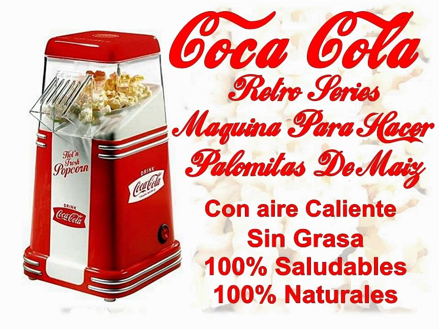maquina de palomitas cocacola coca cola