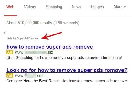 Usuń SuperAdRomove reklamy
