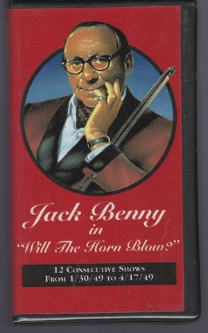 Jack Benny in Will the Horn Blow? (12 consecutive shows from 1/30/49 to 4/17/49) 6 Audio Cassettes