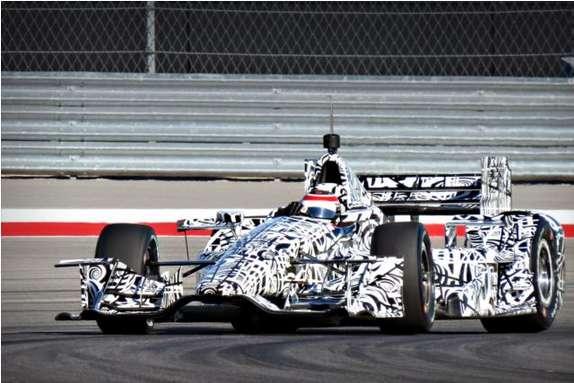 indaycar verizon chassis dw12 2015