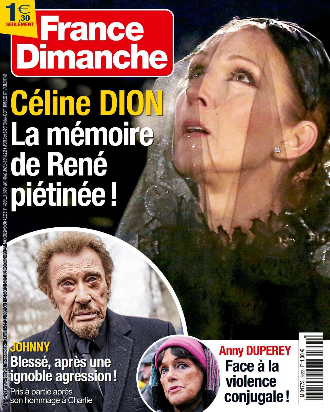 France Dimanche 3622 - 29 Janvier au 4 Février 2016
