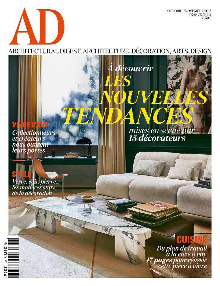 AD Architectural Digest 132 - Octobre-Novembre 2015