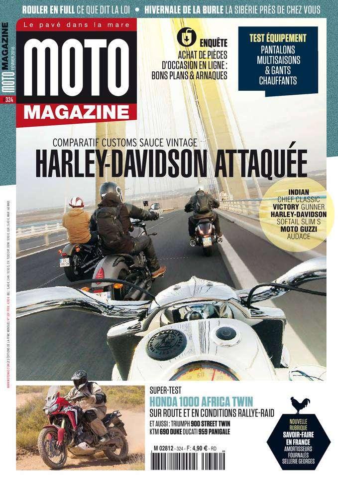 Moto Magazine - Février 2016