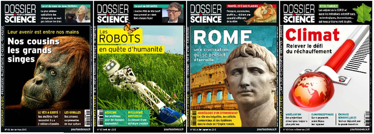 Dossier pour la Science - Full Year 2015 Collection