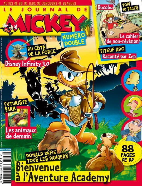 Le Journal de Mickey 3297 - 26 Août au 1er Septembre 2015