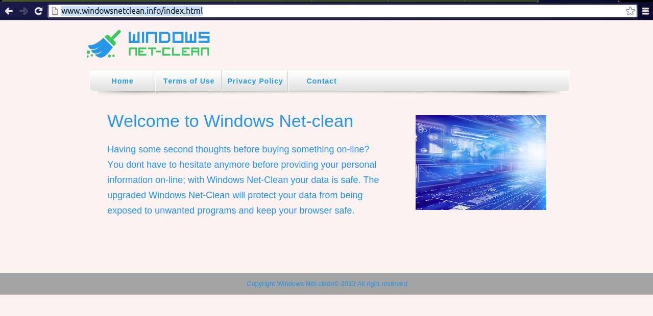 Remove Windows Net-Clean