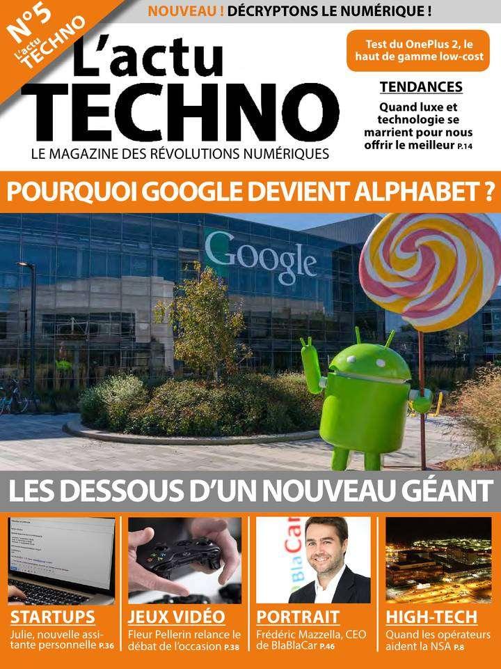 L'actu Techno 5 - Septembre 2015