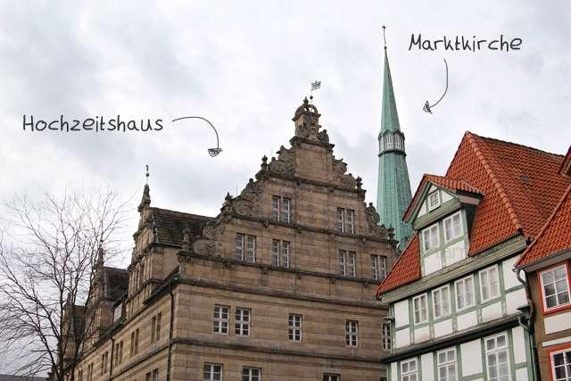 Hameln Hochzeitshaus & Marktkirche