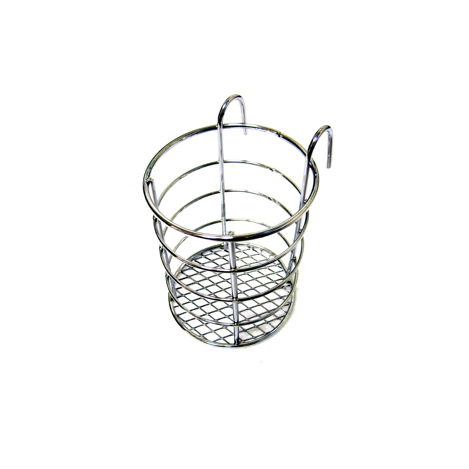 new steel wire sink basket cutlery holder cooking utensils