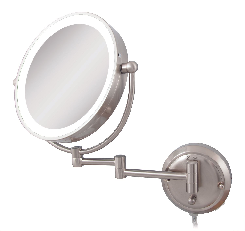 Zadro glaw45 glamour wall mount mirror ebay image is loading zadro glaw45 glamour wall mount mirror amipublicfo Gallery