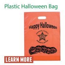 Plastic Halloween Bag