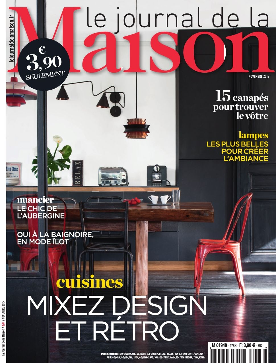 Le Journal de la Maison 478 - Novembre 2015