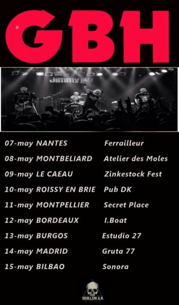 GBH gira europea