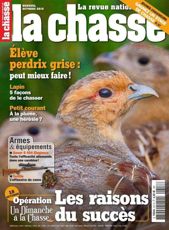 La Revue Nationale de la Chasse - Octobre 2015