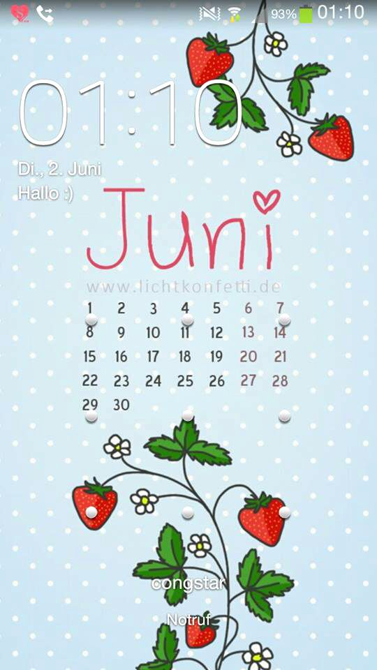Wallpaper Juni 2015 - Smartphone iPhone